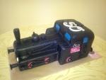 dort  lokomotiva černá    č.556