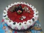 krteček dort ovocný - želé a jahody č.570