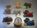 figurky  marcipánové mix na dort