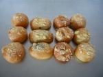 koláčky malé svatební: tvaroh,mak,ořech, povidla