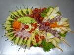 19. mísa mix , sýr,šunka,salám,anglická,zelenina,vajíčko,
