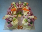 slaný dort podkova II    2,565kg