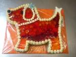 pejsek dort velký -  želé,ovoce č.476