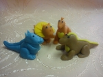 figurka  na dort dinosauři