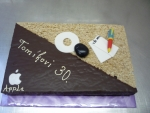 štafetka velká dort, tužka,disk,myš,apple  č.467