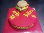 dort kulatý malý hamburger  č.411