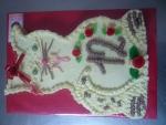 zvířátko dort kočička č.610