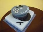 policejní čepice dort     č.473