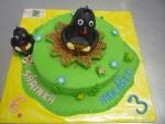krteček V a M dort