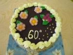 kulatý dort vrch čokoláda  č.498