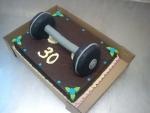 dort spodní díl čokoláda ,činky  č.618