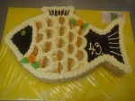 dort ryba se zlatými šupinami -čokoládové penízky  č.622