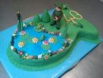 dort ryba ,rybář s rybníčkem  č.626