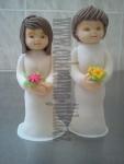 figurka  svatební slečna