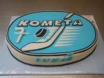 kometa Brno ovál dort č.534