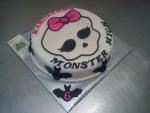 ,Monster High netopýři dort č.587