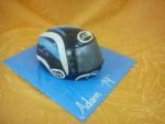 motorkářská helma dort  č.561
