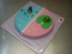 dort kulatý velký pro dvojčátka, krteček,žabička č.507