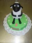 dětský dort kulatý - ovečka Shaun   č.231