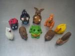 figurky marcipánové,labuť,beruška,krteček,yajjíček,veverka,kačenka,králík,žabka,ježek,šnek