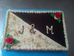 dort obdelník, jako že štafetka ořech,čokoláda  č.619