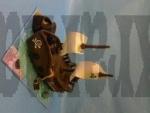 pirátská loď dort č.567 II