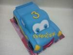 Cars Mekvín- modré auto Sally č.555