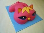 kočka Mončičák růžový