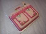 dort školní taška růžová č.576