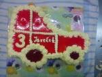 dort traktor vrch želé+jahody