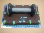 dort obdelník celý v čokoládě - činka č.618