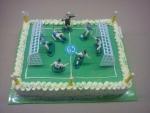 dort fotbalové hřiště + fotbalisti  č.53