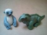 figurka marcipánová Dinosaurus Aladar ,lemur