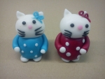 marcipánová figurka Hellou Kitty