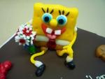 marcipánová figurka Spongebob v kalhotách