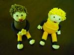 marcipánové figurky broučci