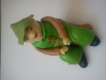figurka marcipánový rybář