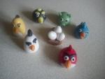 figurky marcipánové Angry Birds