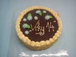 dort vrch čokoláda bok ořech