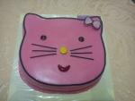dort hlava Hellou Kitty - růžová