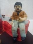 figurka marcipánová obkladač-zedník