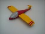 marcipánové letadlo kluzák