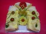 slaný dort podkova   sýrová