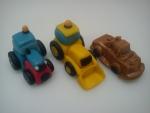 marcipánové traktor,bagr,tahač