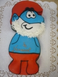 taťka šmoula dort  č.351