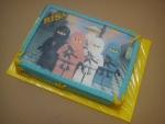 dort obdelník jedlý papír Ninjago -zákazník si dodaljedlý papír-