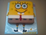 dort 3D Spongebob zubatý