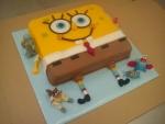 dort 3D Spongebob s  přáteli