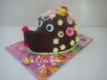 dort ježeček v čokoládě