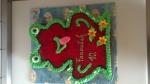 dort zvířátko žabák vrch jahody želé vnitřek malinový míša č.181